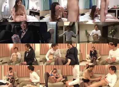 ファンの自宅をゲリラ訪問!音羽文子さんとしてみませんか~憧れの熟女と夢の中出しセックス~のシーン一覧