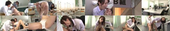 声が出せない絶頂授業で10倍濡れる人妻教師澤村レイコ/の無料画像
